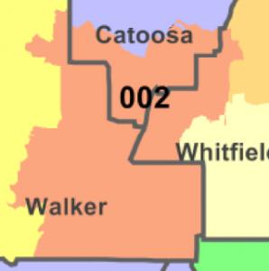 GA House District 2 Map