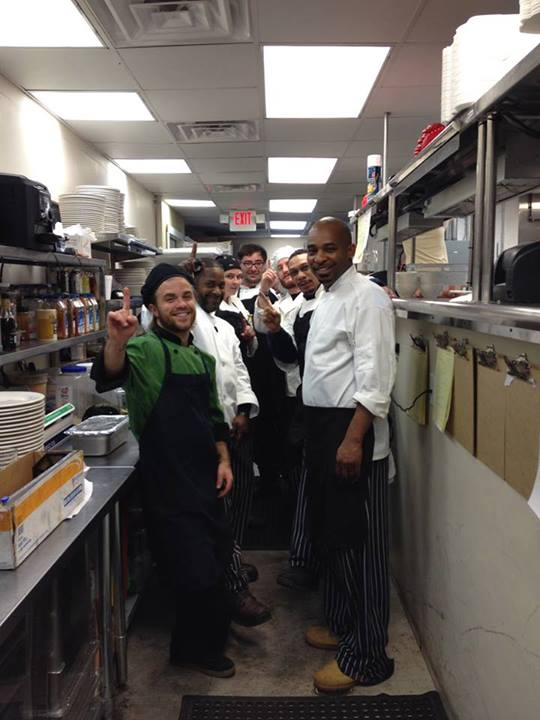 Manor House Seven Kitchen Employees