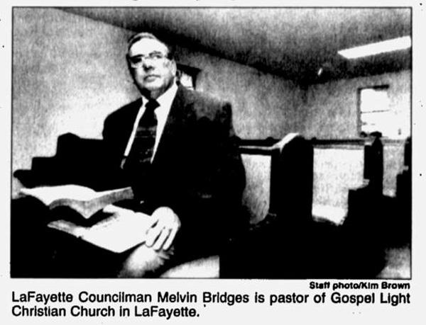 Melvin Bridges in 1998 / Walker Co Messenger