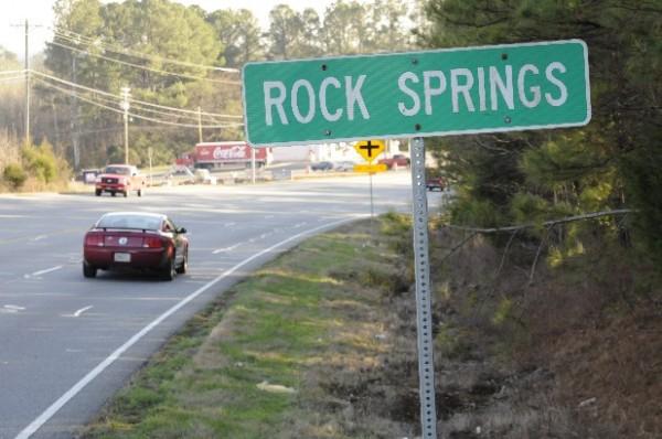 Rock SpringS Sign