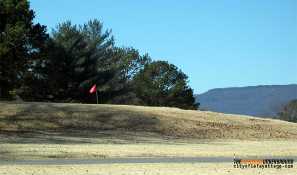 LaFayette Golf Course in February
