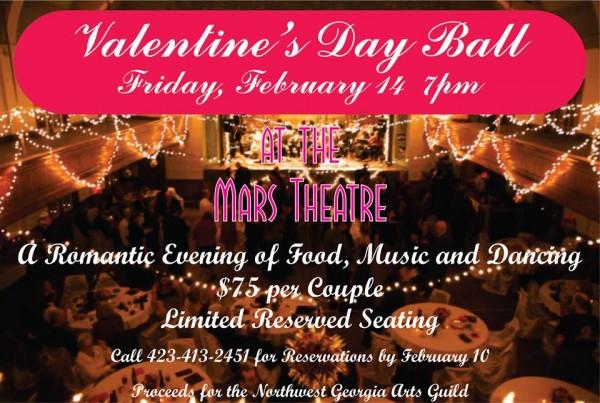 Mars Theater Valentine's Day Event