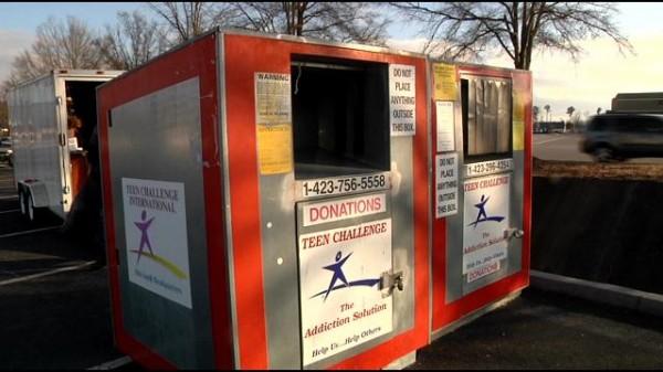 Teen Challenge Donation Box