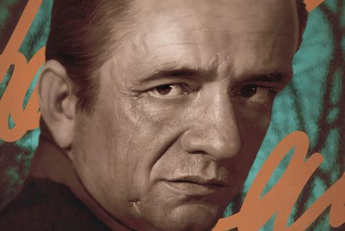Johnny Cash Concert Poster Detail