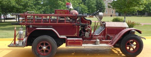 Old LaFayette Fire Truck