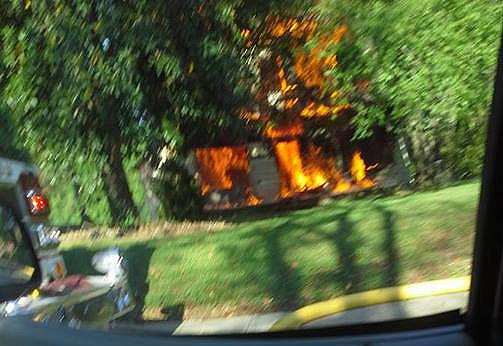 April 26 Training Fire