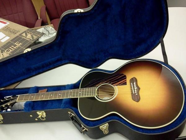 Library Fundraiser Cash Guitar
