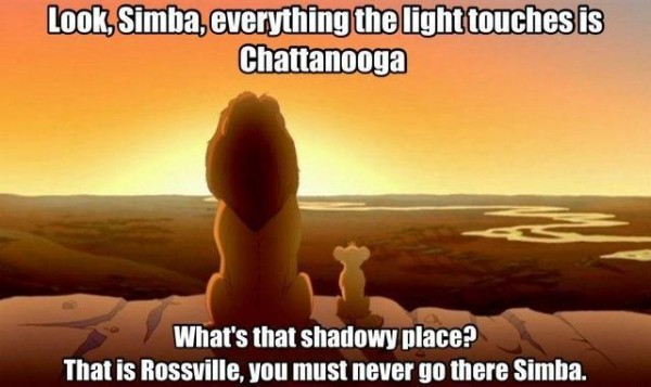 Never Go to Rossville Simba