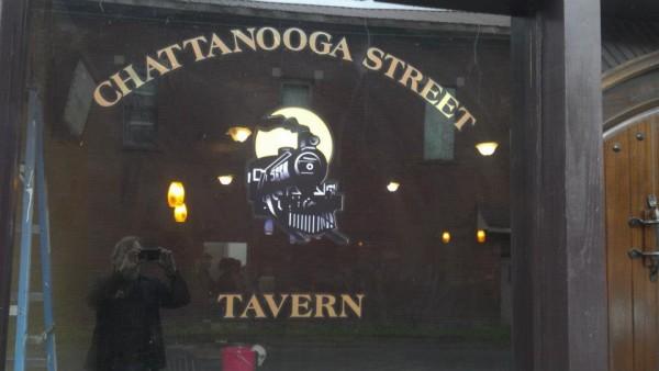 Chattanooga St Tavern Window