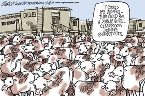 School Classroom Overcrowding
