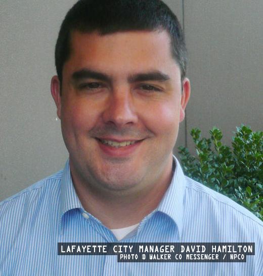 New City Manager David Hamilton