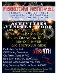 2014 Freedom Festival