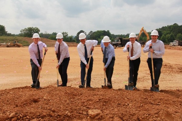 IVC Plant Groundbreaking in Dalton