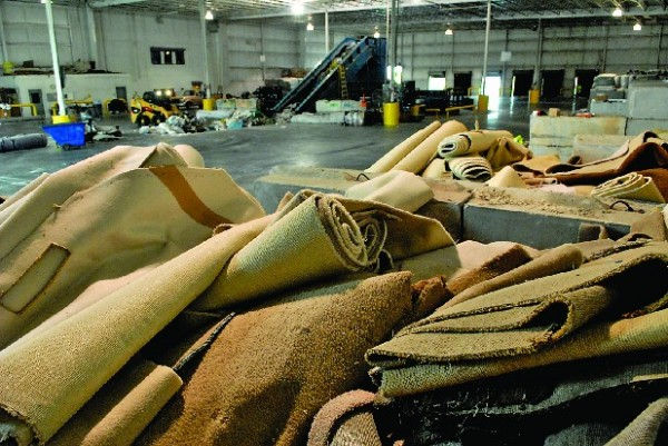 Shaw Carpet for Recycling
