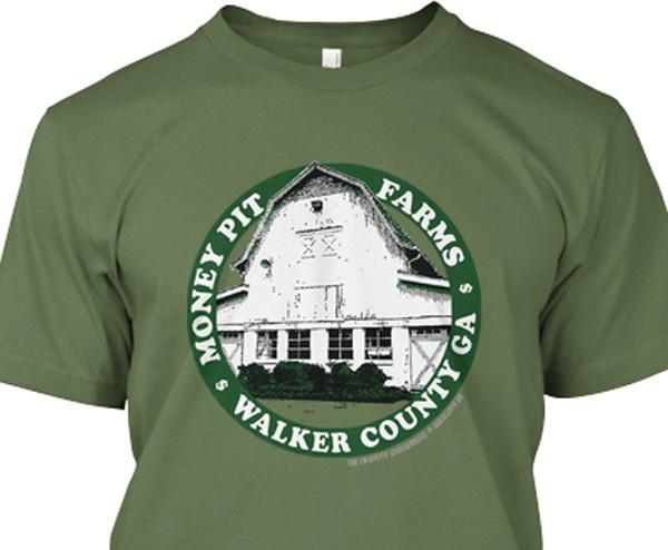 Spring 2014 LU T-Shirt / Money Pit Farms