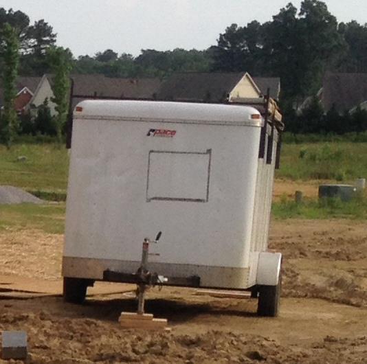 Stolen Catoosa County Trailer