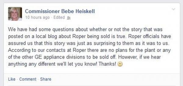 Bebe Heiskell Roper Sale Denial