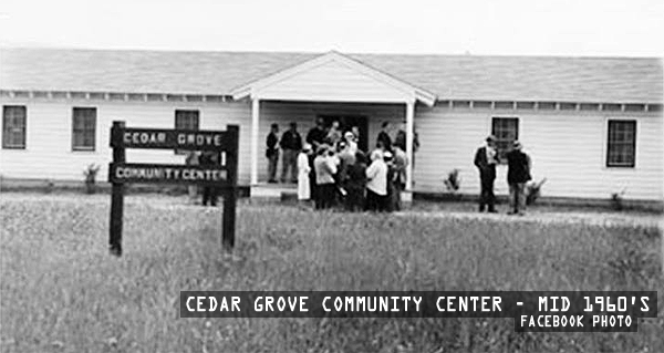 Cedar Grove Community Center - Mid 1960s