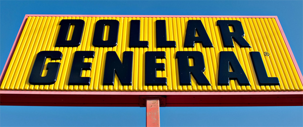 Old Dollar General Sign
