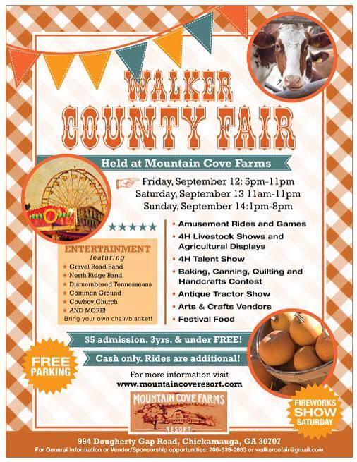 Walker County Fair Poster