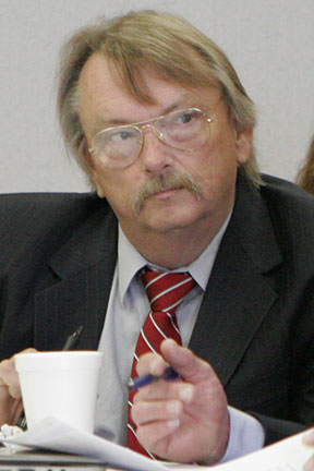 Mike Lovelady During Hearing