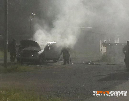 Wreck / July 16 Vehicle Fire