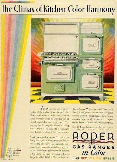 Classic Roper Stove Advertisement