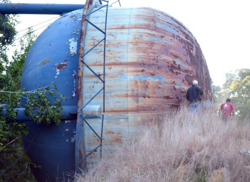 Demolished Summerville Water Tower