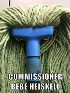 Commissioner Mop