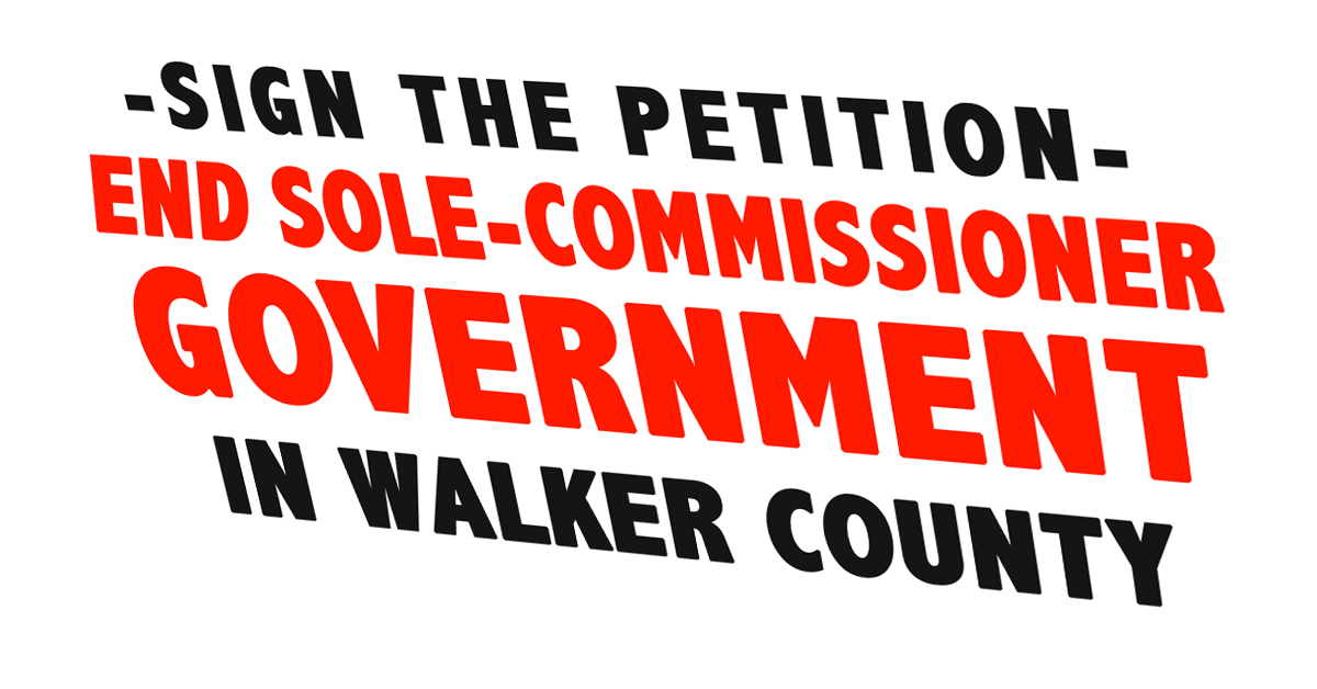 Sole Commissioner Petition Ad