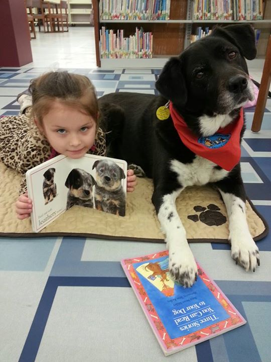 LaFayette Library PAWS