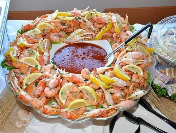 Manor House Shrimp Buffet