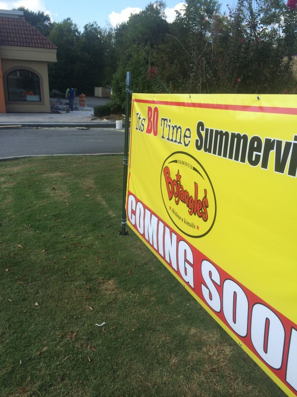 Bojangles Coming to Summerville