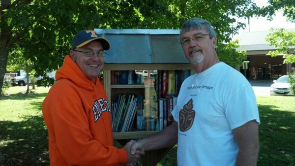 Little Free Library in Joe Stock Park