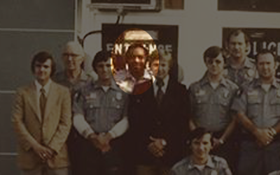 Rudelle Greene and LPD in 1975