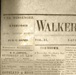 Walker County Messenger 1878