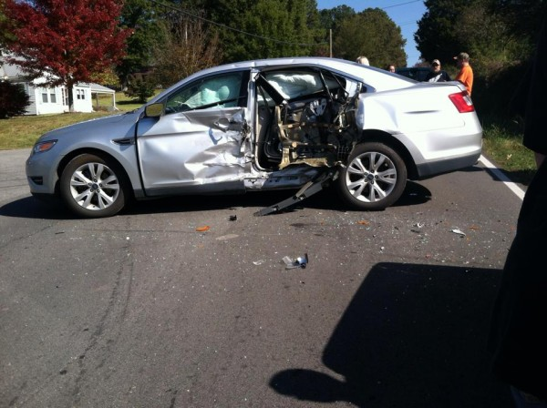 Wreck on Longhollow Rd October 25