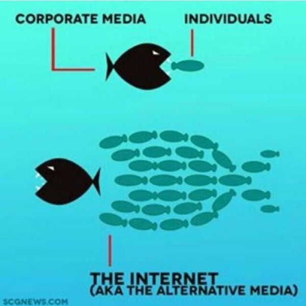 Corporate Media Feeding Frenzy