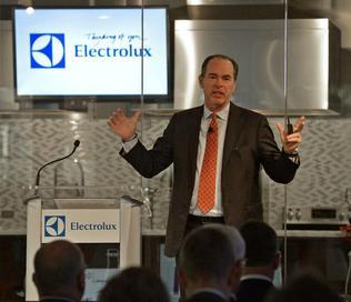 Electrolux CEO Keith McLoughlin