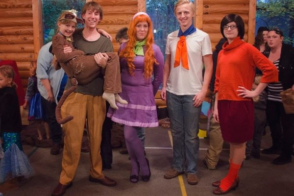 Halloween 2014 Photo Winner / Scooby Doo Group Costume at Highlands Church