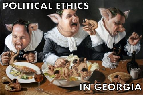 Political Ethics / Pig Party