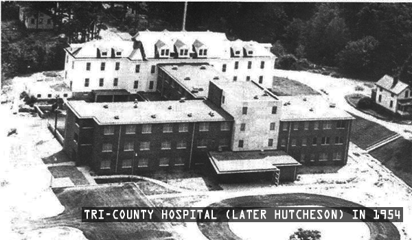 Tri-County Hospital (Hutcheson) In 1954
