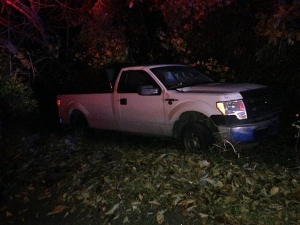 Wreck on Maddox Gap - Nov 7 2014