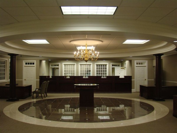 Covenant Bank Building Interior