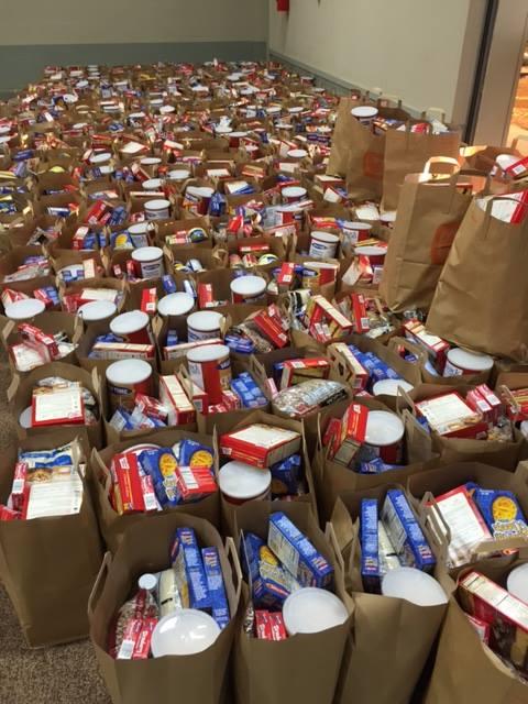 Empty Stocking Food 2014