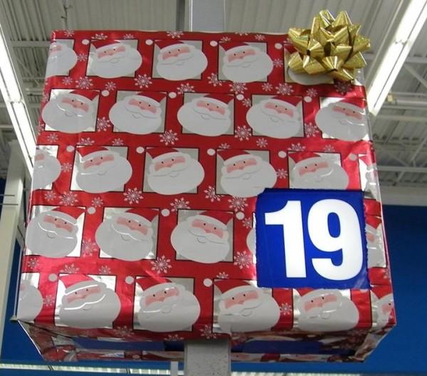 Wrapped Walmart Register