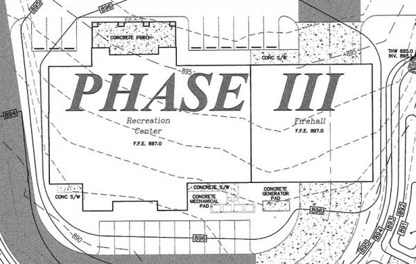 Cedar Grove Community Center Plan Excerpt