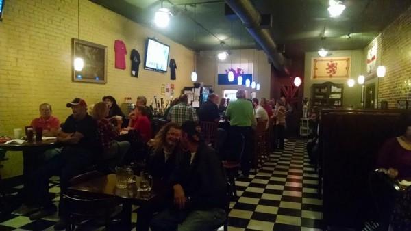 Chattanooga Street Tavern Inside
