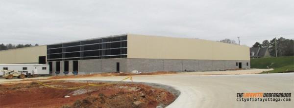 Unique Fabrication Warehouse Expansion Construction Site