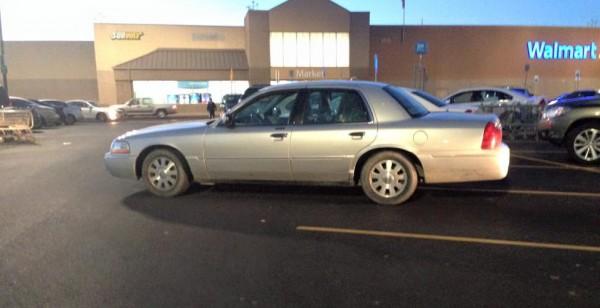 Terrible Parking at Walmart